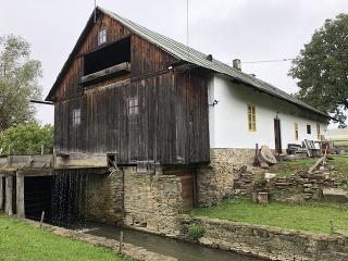 Vodný mlyn zo 17.