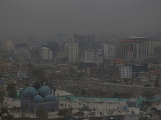 Znečistenie ovzdušia nad afganským