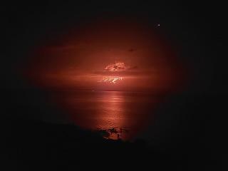 Na súostroví Galapágy vybuchla
