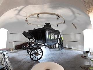 Pohrebný koč Františky Andrássyovej
