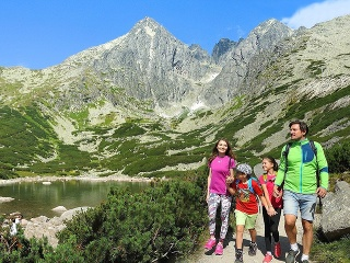 Leto vo Vysokých Tatrách
