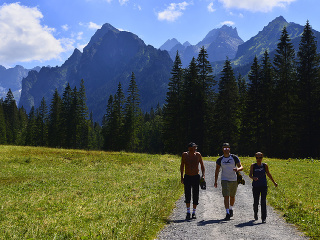 Bielovodská dolina vo Vysokých