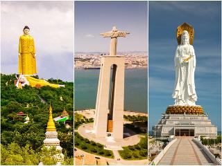 Gigantický Kristus, Budha, ale