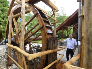 Vodný mlyn v Kováčovej