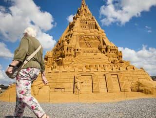 Zámok z piesku vyšší