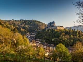Hrad Vianden, Luxembursko