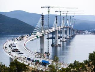 Chorvátsko: Most Pelješac už