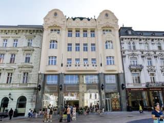 Secesná budova na Hlavnom