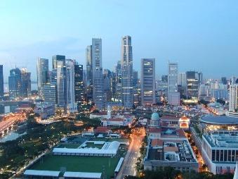 nočné datovania miesto v Singapure