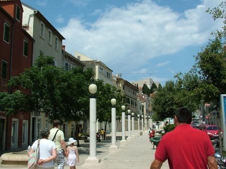 Pešia zóna, Chorvátsko