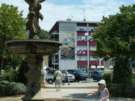 Fontána, Šibeník, Chorvátsko