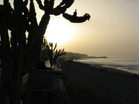 Východ slnka v Playa