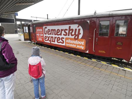 Mimoriadny turistický vlak Gemerský