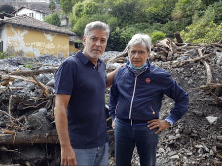 George Clooney a starosta