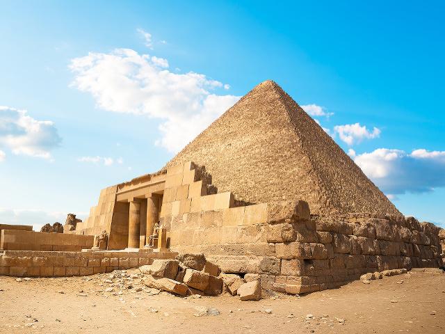Cheopsova (Chufuova) pyramída, Egypt