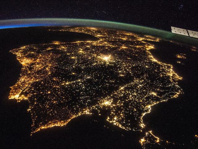 Pohľad na Zem z