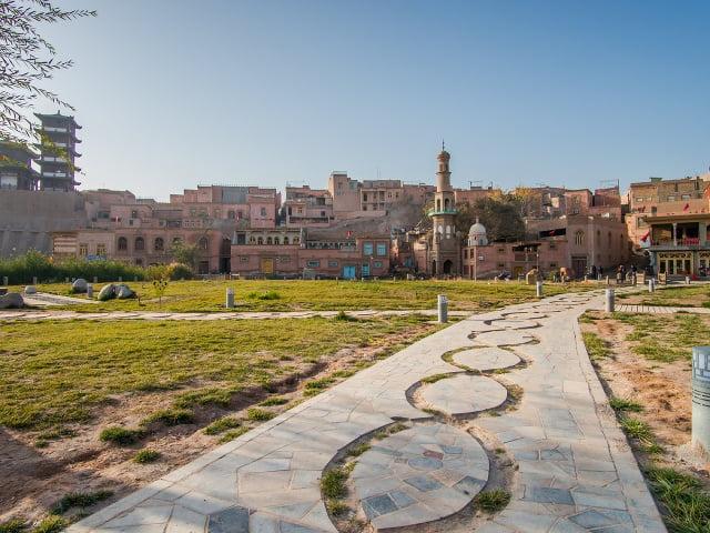 Historické centrum Kašgaru