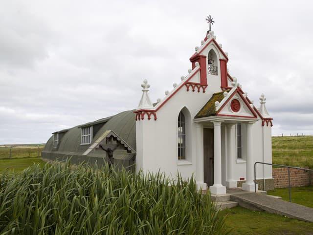 Talianska kaplnka, Orkneje
