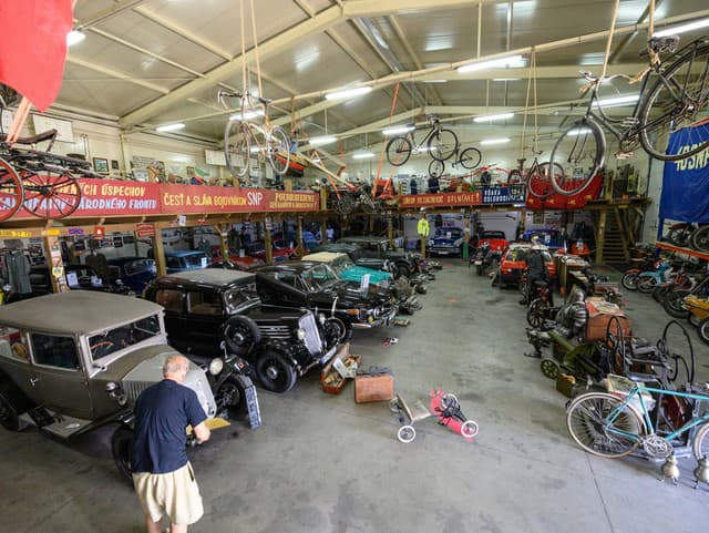 Technické moto múzeum v