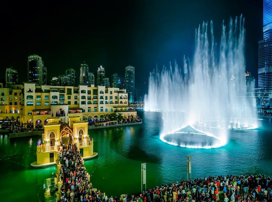 Mena a peniaze v Dubaji, Spojen
