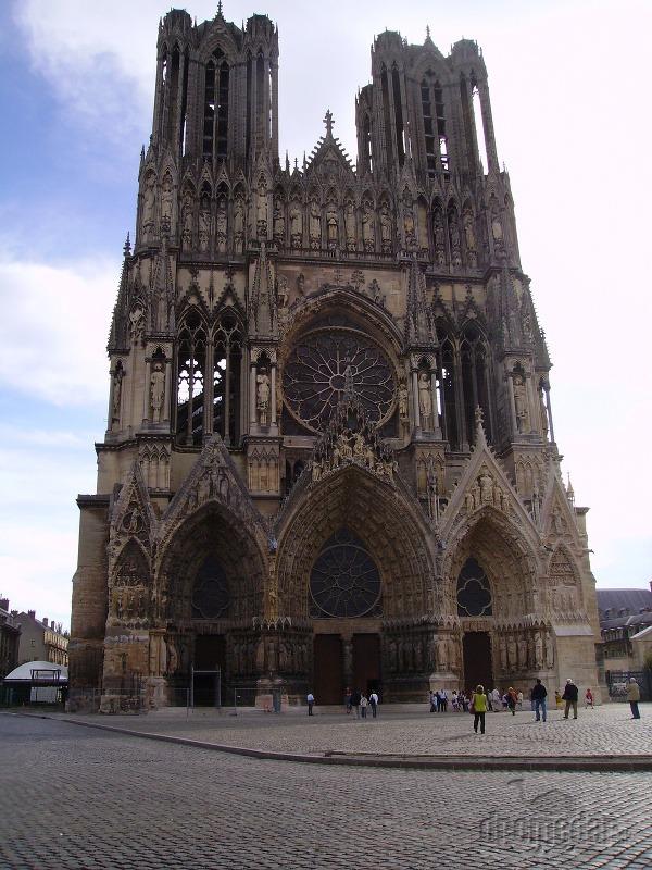 Katedrála Notre Dame Remeš