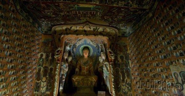 Jaskyne tisícky Budhov Čína