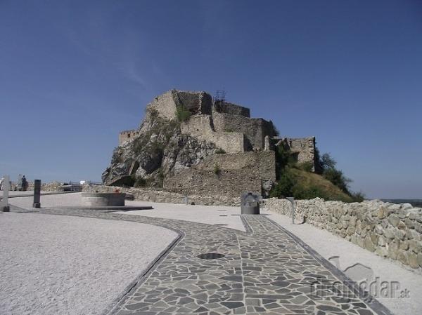 Pohľad na Horný hrad