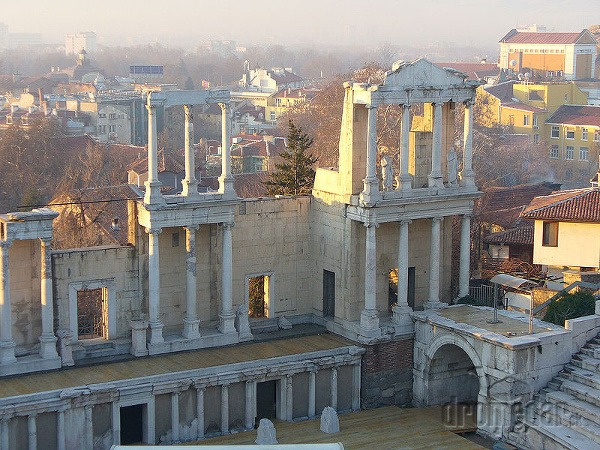Rímske divadlo Plovdiv, Bulharsko