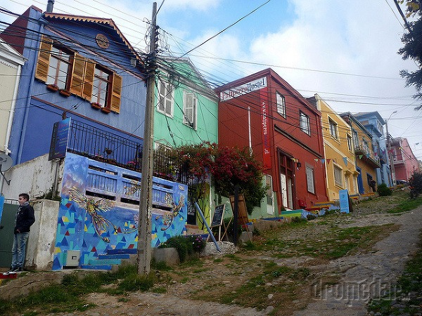 farebné Valparaiso