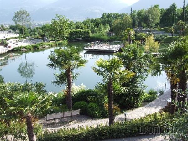 Merano botanická záhrada pri