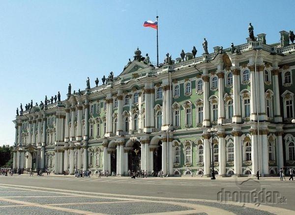 Zimný palác je súčasťou