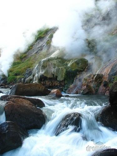 Údolie gejzírov, Kamčatka