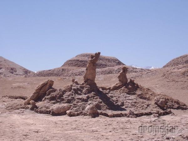 Tres Marias, púšť Atacama