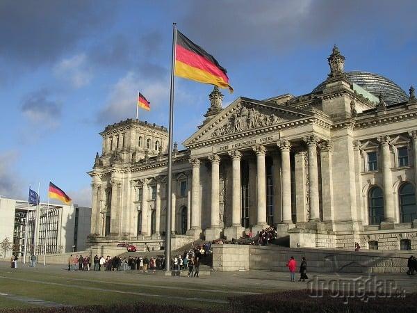 Berlin Reichstag Bundestag Nemecký