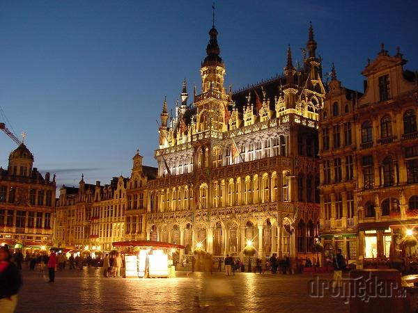 Hlavné námestie v Bruseli
