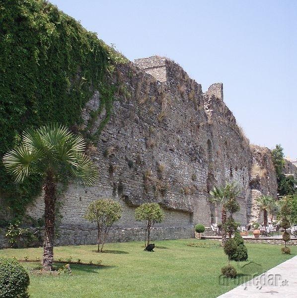 hrad v Elbasan