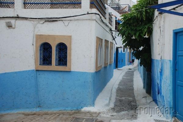 Modré uličky v Rabate