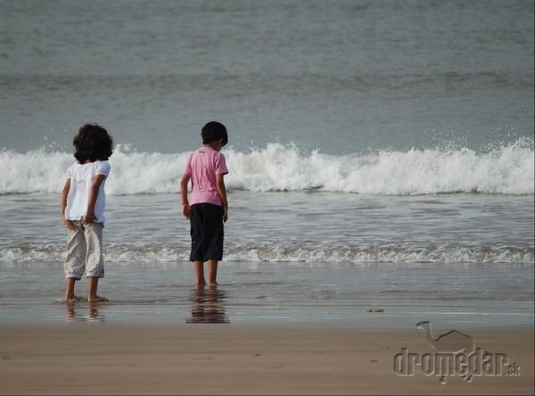 Deti na pláži, Essaouira