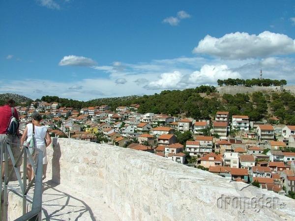 Pohľad z pevnosti Mihovila