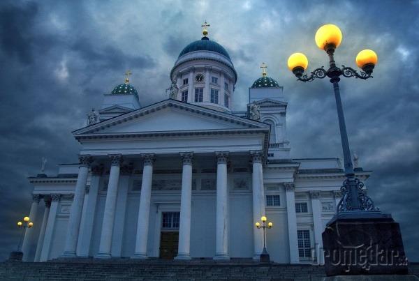 Helsinska katedrála, Helsinki, Fínsko