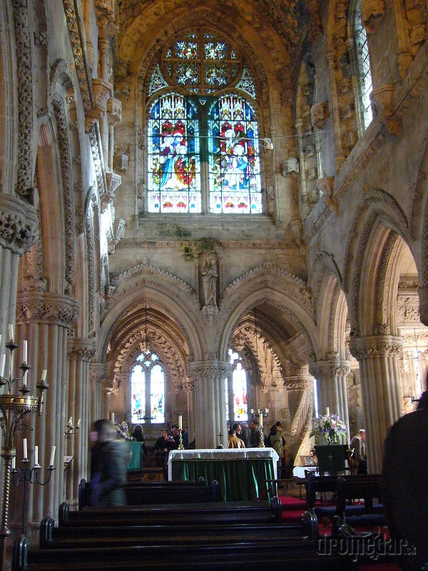 Rosslyn Chapel, Edinburg