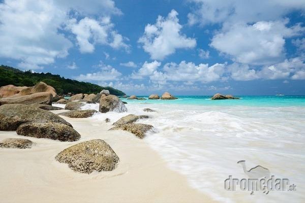 Anse Lazio, ostrov Praslin,