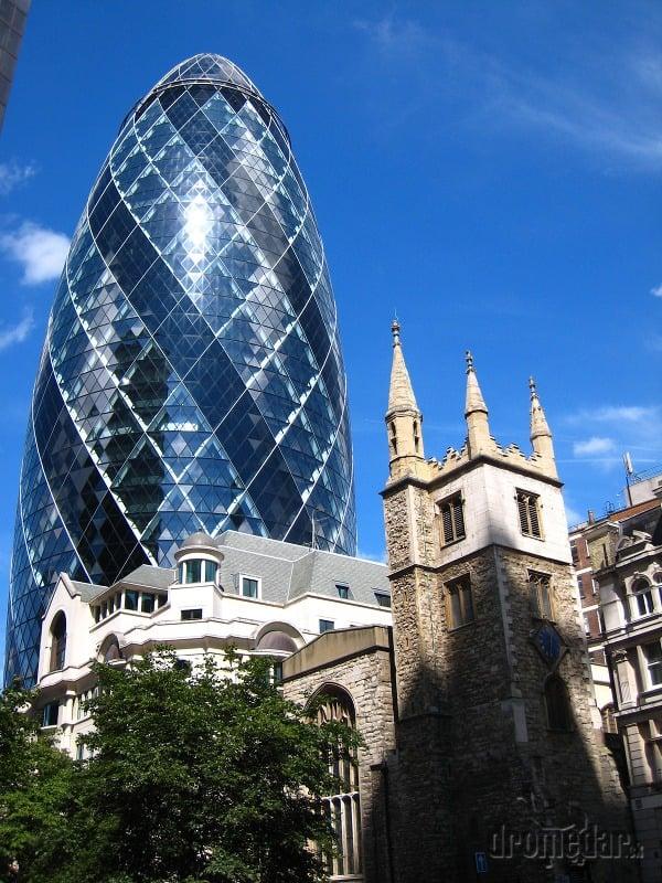 The Gherkin, Londýn