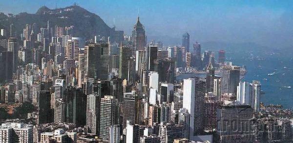 Jedinečný pohľad na Hongkong,