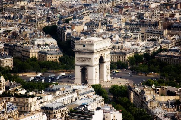 Víťazný oblúk, Paríž