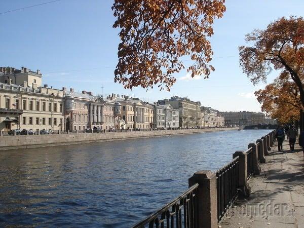 Rieka Fontanka, Petersburg