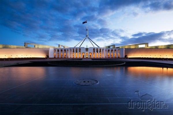 Parlament v Canberra, Austrália