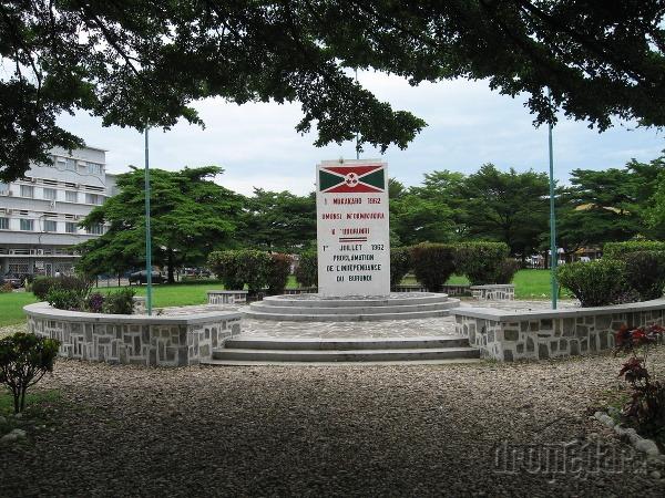 Námestie nezávislosti, Bujumbura, Burundi