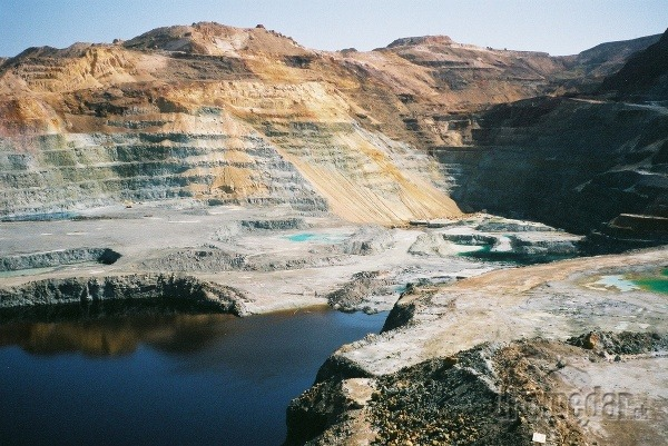 Baňa na meď, Cyprus