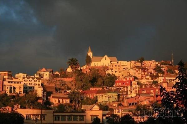 Hlavné mesto Antananarivo, Madagaskar